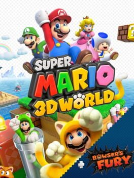 Super Mario 3D World + Bowser's Fury switch Cover Art