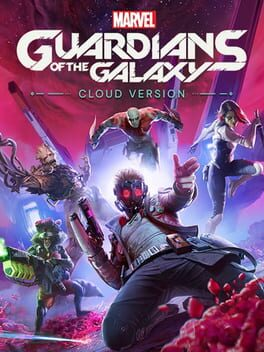 Cover of Marvel's Guardians of the Galaxy: Cloud Version