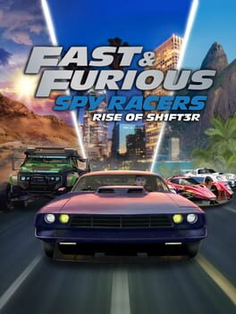 Cover of Fast & Furious: Spy Racers Rise of Sh1ft3r