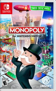 Monopoly for Nintendo Switch cover art