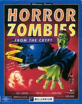 постер игры Horror Zombies from the Crypt