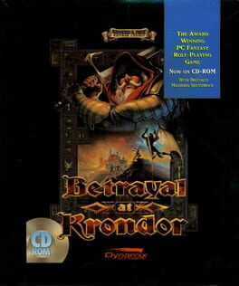 постер игры Betrayal at Krondor