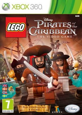 постер игры Lego Pirates of the Caribbean: The Video Game