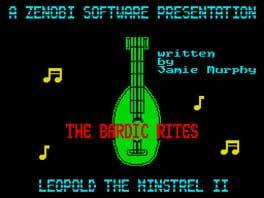 The Bardic Rites