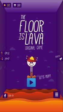 The Floor is LAVA – Original Game
