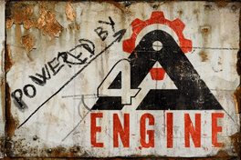 Logo of 4A Engine