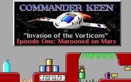 Commander Keen – Invasion of the Vorticons: Marooned on Mars