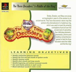 The Three Decoders 1 – Riddle of the Ring