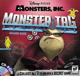 Disney/Pixar's Monsters Inc.: Wreck Room Arcade: Monster Tag