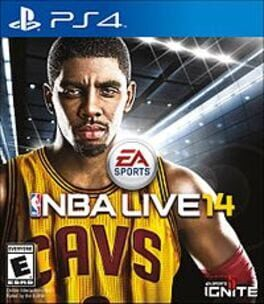 NBA Live 14 ps4 Cover Art