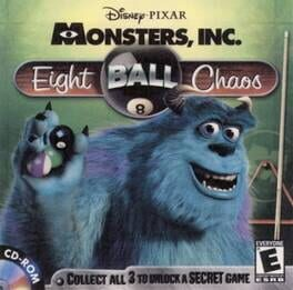 Disney/Pixar's Monsters Inc.: Wreck Room Arcade: Eight Ball Chaos