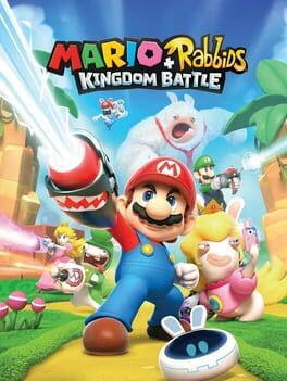 Mario + Rabbids Kingdom Battle cover art