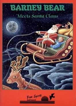 Barney Bear Meets Santa Claus