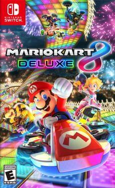 Mario Kart 8 Deluxe cover art