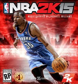 NBA 2K15 ps4 Cover Art