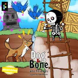 Dog and Bone Are Friends
