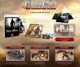 Prince of Persia : The Forgotten Sands – Collector's Edition