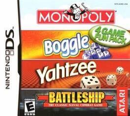 Monopoly / Boggle / Yahtzee / Battleship