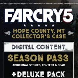 Far Cry 5: Hope County, MT Collector's Case