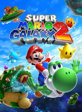 Super Mario Galaxy 2 - Cover Image