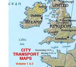City Transport Map Volumes 1 & 2 – 2009