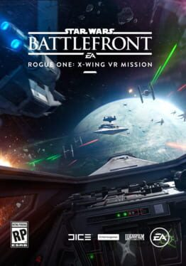 Star Wars Battlefront: Rogue One - X-wing VR Mission ps4 Cover Art