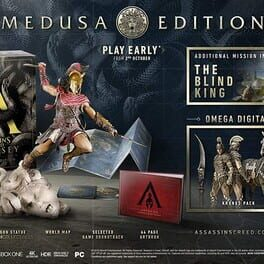 Countdown To Assassin S Creed Odyssey Medusa Edition