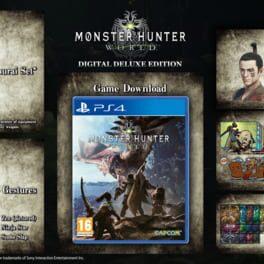 Monster Hunter: World – Digital Deluxe Edition