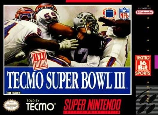 Tecmo Super Bowl III: Final Edition Display Picture