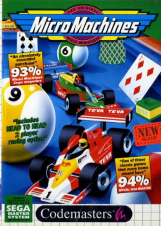 Micro Machines Display Picture