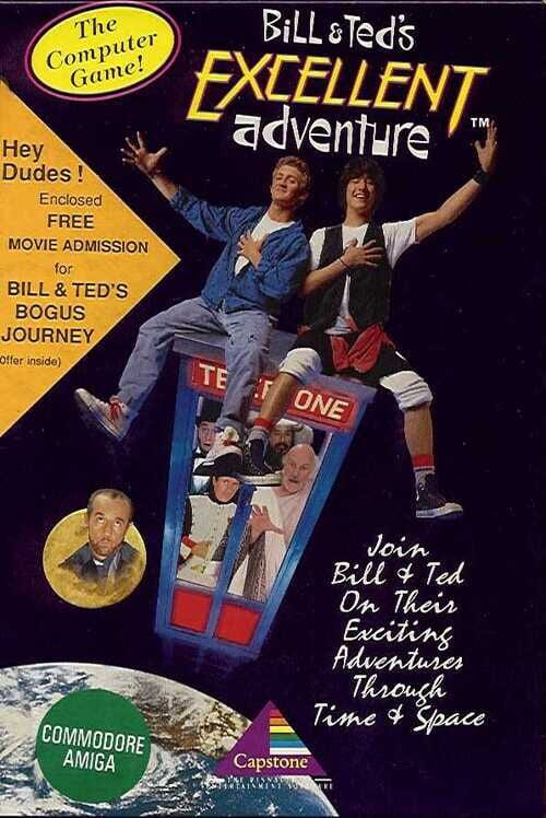 Bill & Ted's Excellent Adventure Display Picture