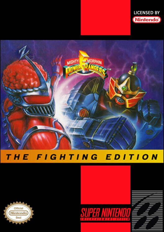 Mighty Morphin Power Rangers: The Fighting Edition Display Picture