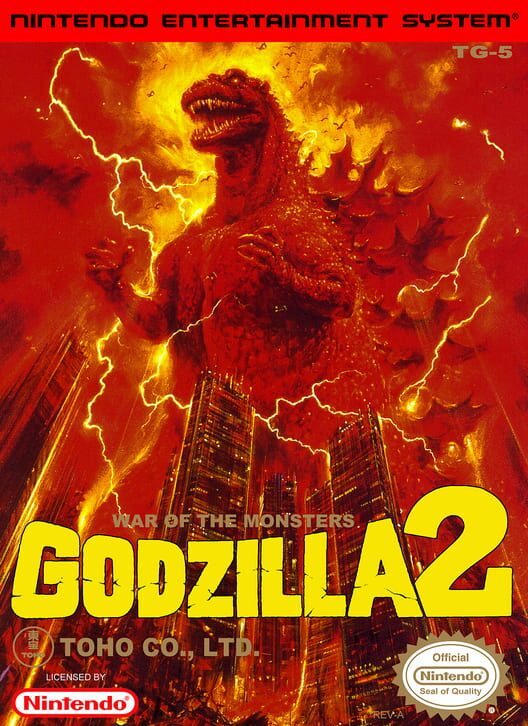 Godzilla 2: War of the Monsters Display Picture