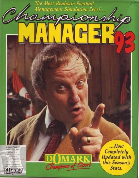 Championship Manager '93 image