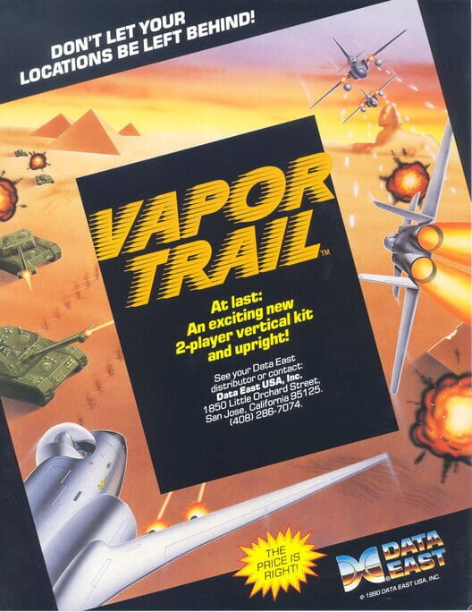 Vapor Trail Display Picture