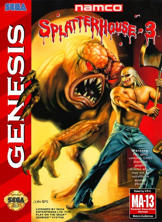 Splatterhouse 3 Display Picture