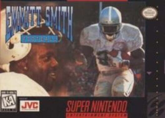 Emmitt Smith Football Display Picture