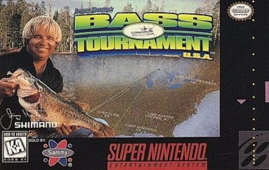 Jimmy Houston's Bass Tournament U.S.A. image