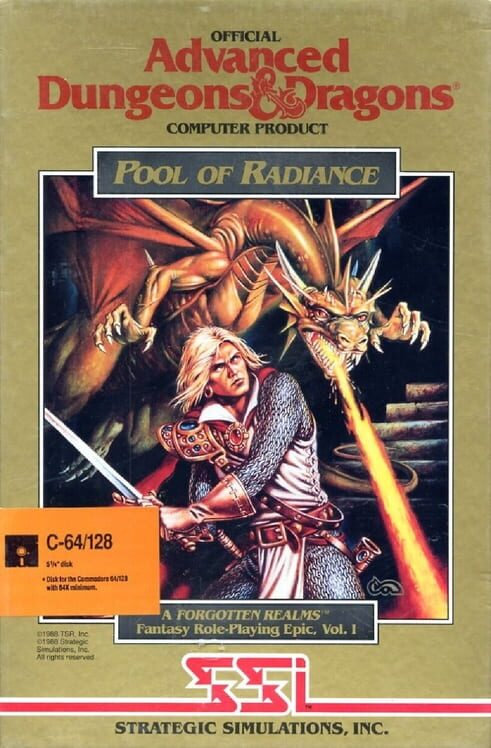 Advanced Dungeons & Dragons: Pool of Radiance Display Picture