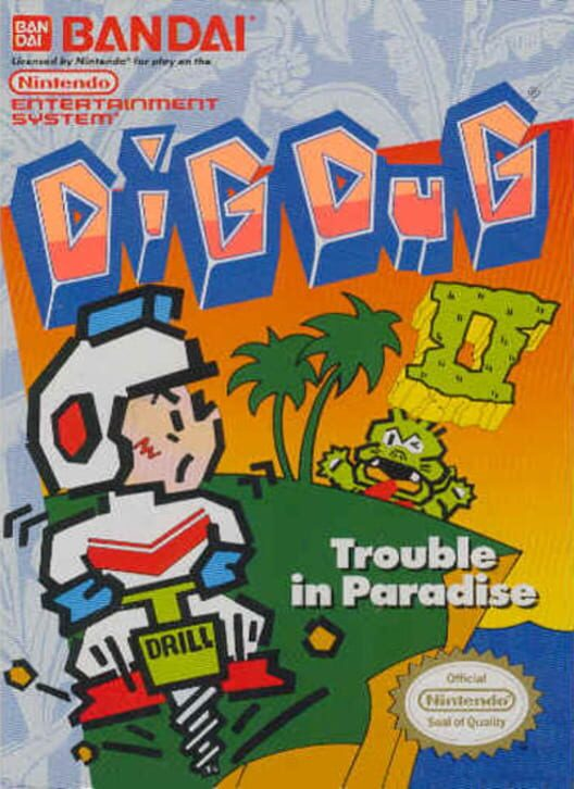 Dig Dug II: Trouble in Paradise image