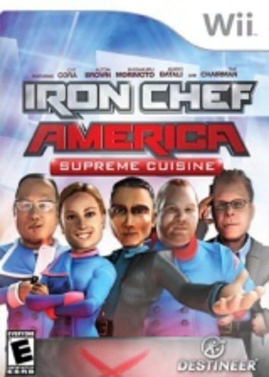 Iron Chef America: Supreme Cuisine Display Picture