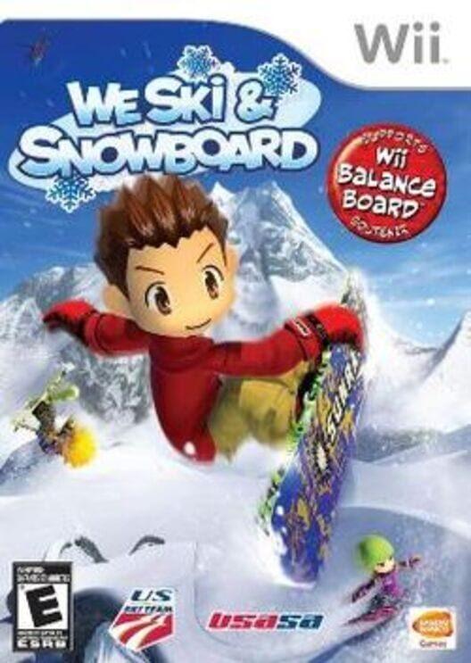 We Ski & Snowboard Display Picture