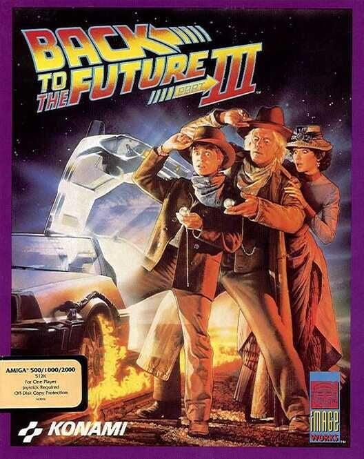 Back to the Future Part III Boxart