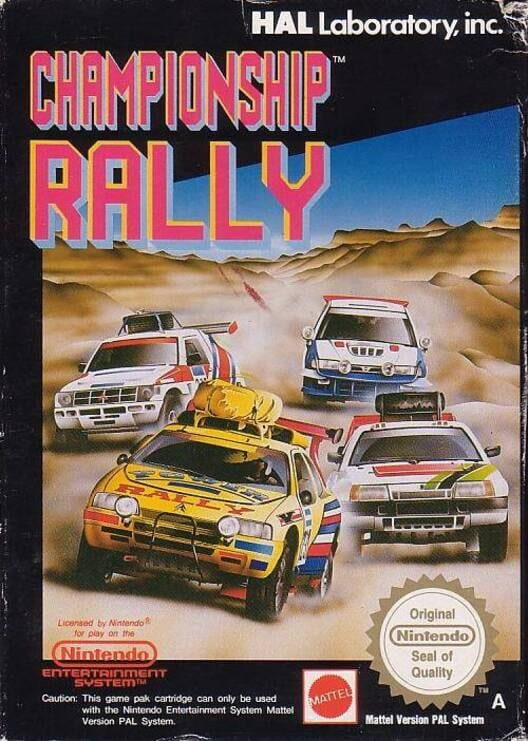 Championship Rally Display Picture