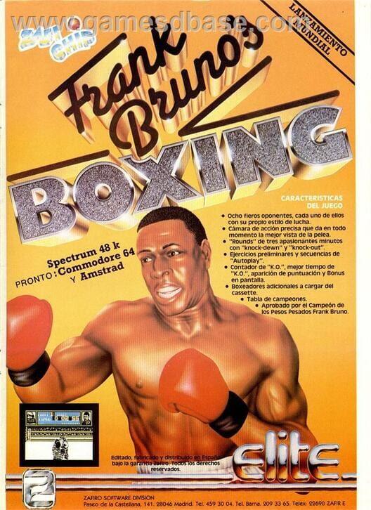 Frank Bruno's Boxing image