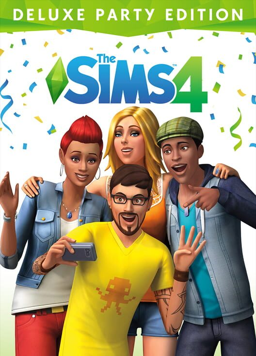 The Sims 4 - Deluxe Party Edition image