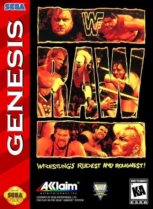 WWF RAW Display Picture