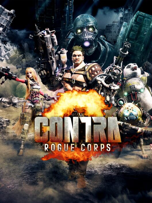 Contra: Rogue Corps image
