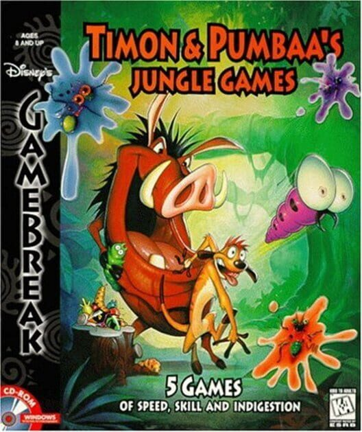 Timon & Pumbaa's Jungle Games Display Picture