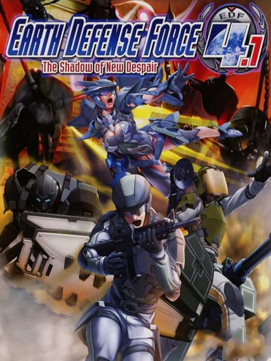EARTH DEFENSE FORCE 4.1 The Shadow of New Despair image